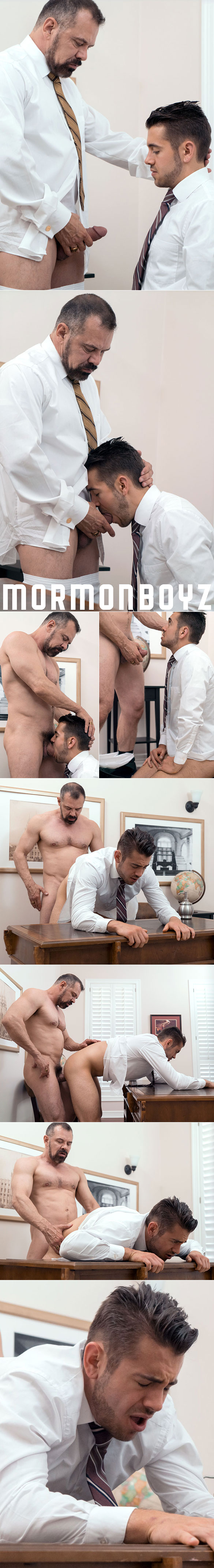 "MormonBoyz: President Ballard fucks Brother Calhoun raw in ""The Calling"""