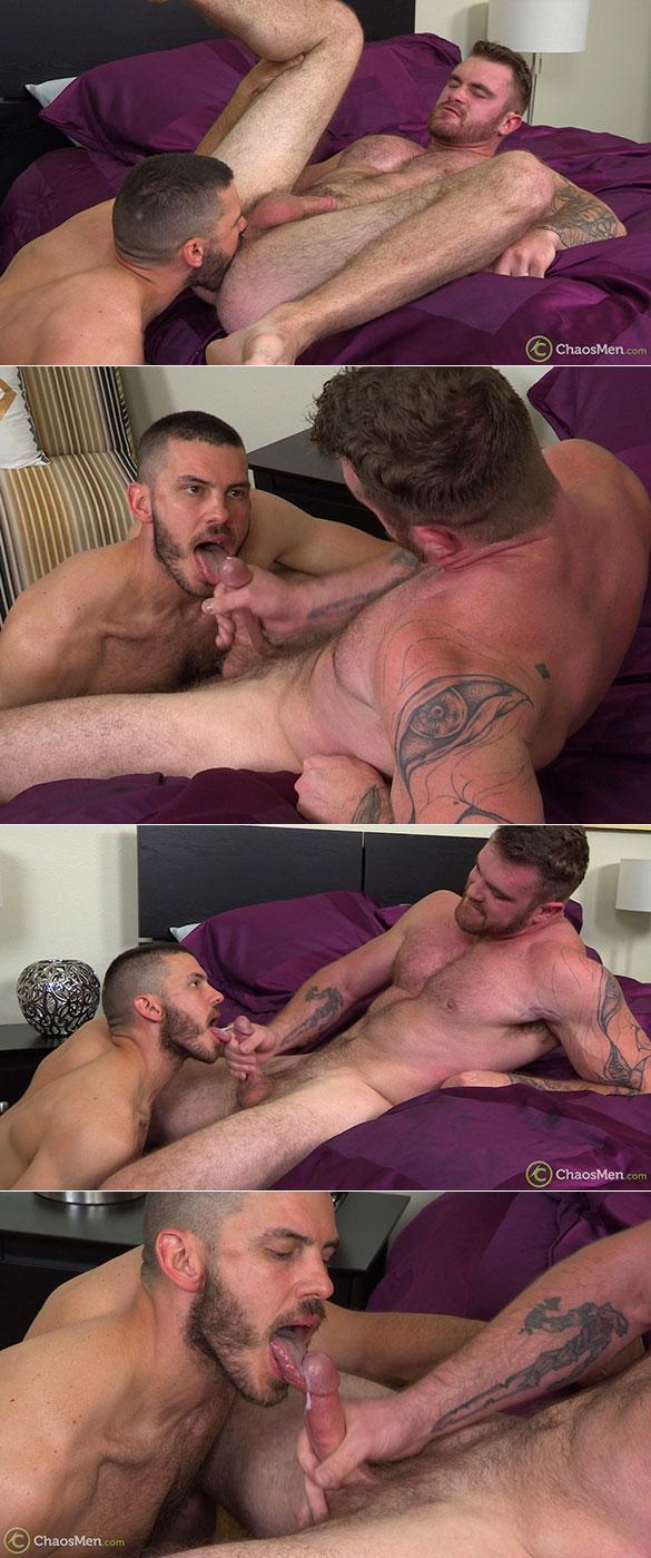 ChaosMen: Caspar and Vander pound each other bareback