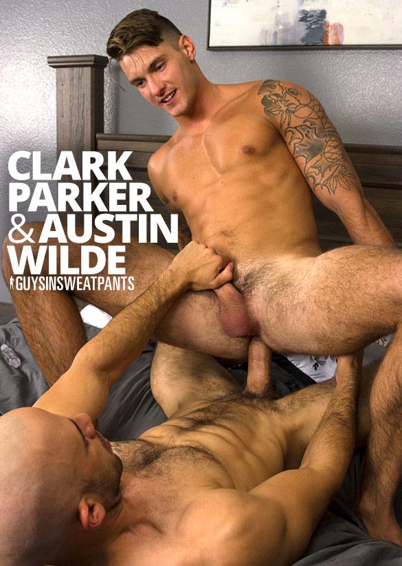 GuysInSweatpants: Austin Wilde creampies Clark Parker