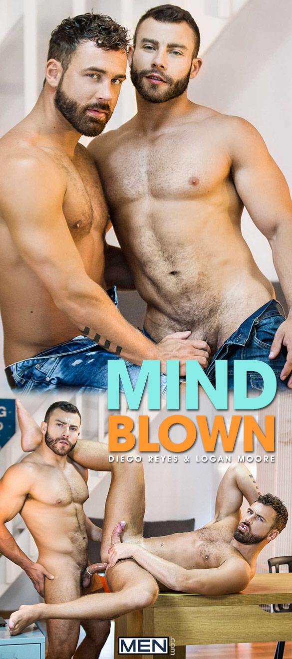 """Men.com: Diego Reyes fucks Logan Moore in """"Mind Blown"""""""