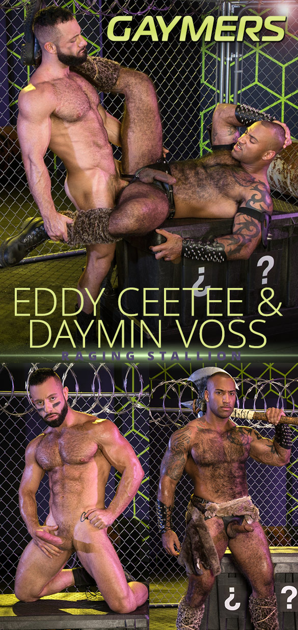"Raging Stallion: Eddy CeeTee and Daymin Voss pound each other in ""Gaymers"""
