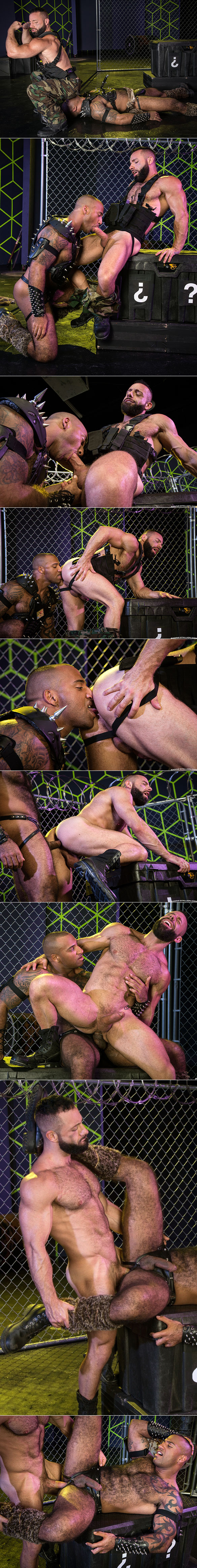 """Raging Stallion: Eddy CeeTee and Daymin Voss pound each other in """"Gaymers"""""""