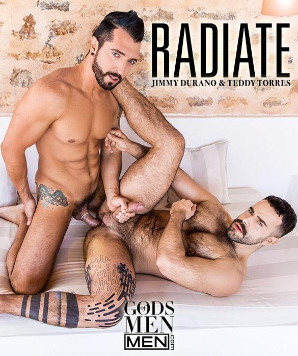 "Men.com: Jimmy Durano fucks Teddy Torres in ""Radiate"""