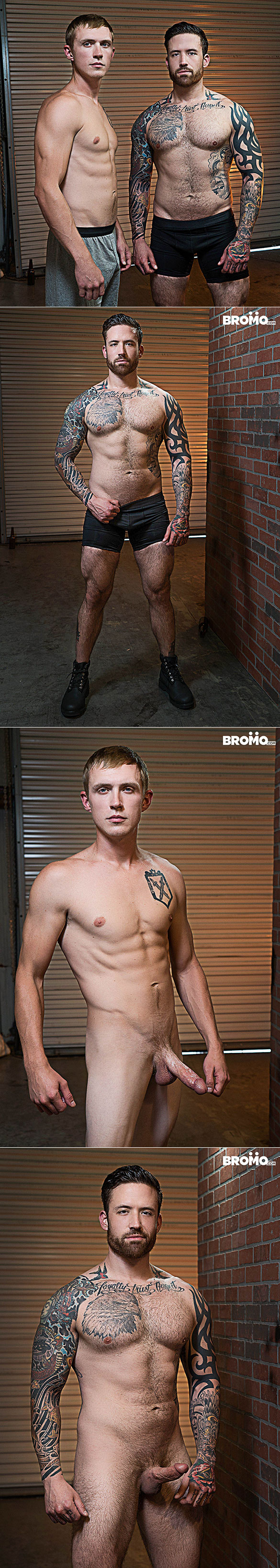 "Bromo: Jordan Levine drills Zane Anders raw in ""Whore Alley, Part 1"""