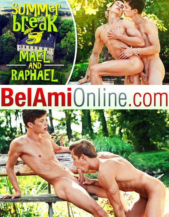 "BelAmi: Mael Gauthier barebacks Raphael Nyon in ""Summer Break, Episode 12"""