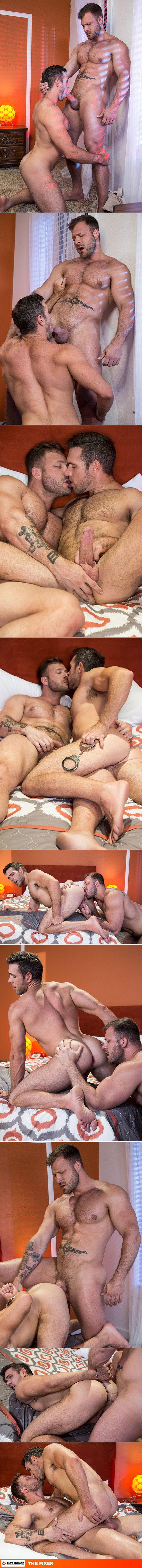 """HotHouse: Austin Wolf pounds Alex Mecum in """"The Fixer"""""""
