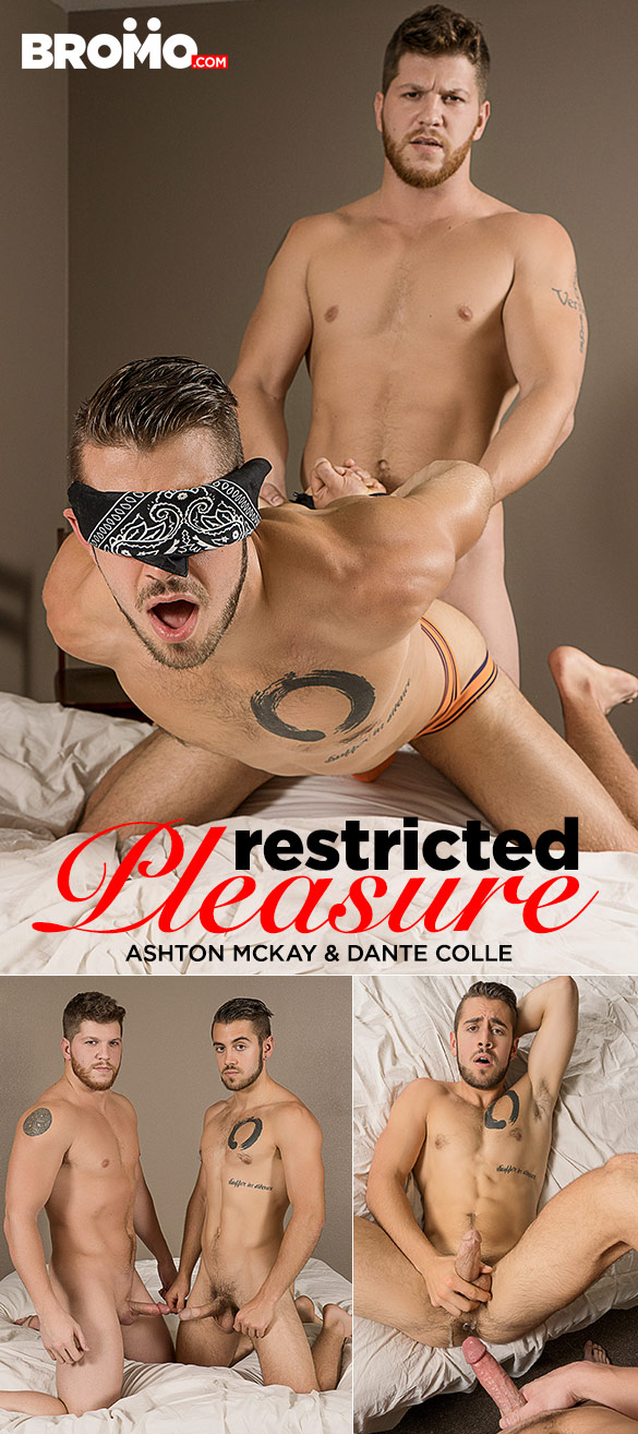 "Bromo: Ashton McKay creams Dante Colle in ""Restricted Pleasure"""
