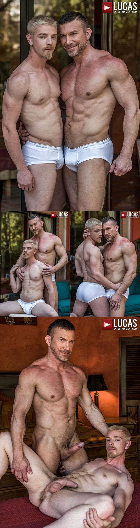 "Lucas Entertainment: Muscle daddy Tomas Brand tops Cody Winter in ""Bareback Auditions 08: Fresh Additions"""