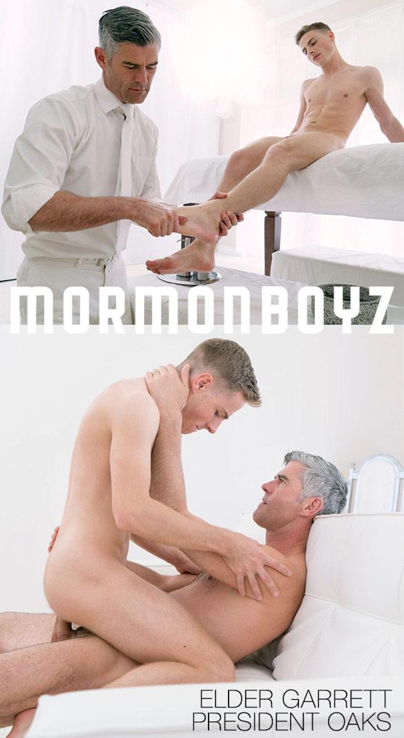 "MormonBoyz: President Oaks fucks Elder Garrett raw in ""Ordination"""