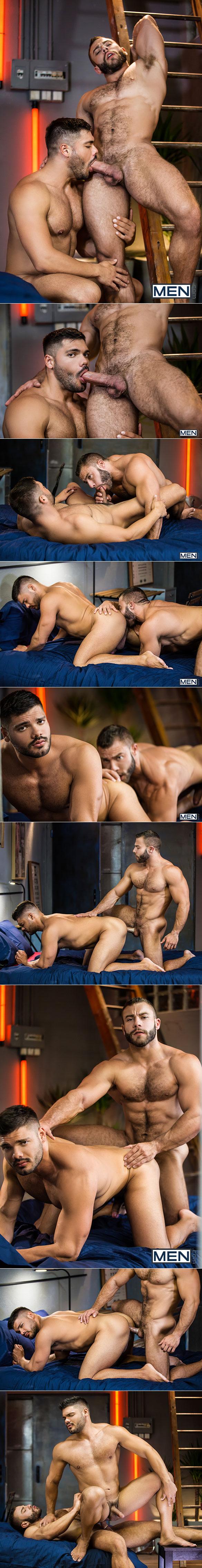 "Men.com: Diego Reyes fucks Nicolas Brooks in ""The Boy Is Mine, Part 2"""