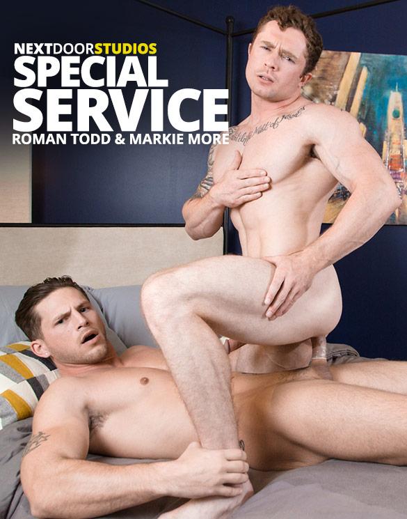 """Next Door Studios: Roman Todd tops Markie More in """"Special Service"""""""