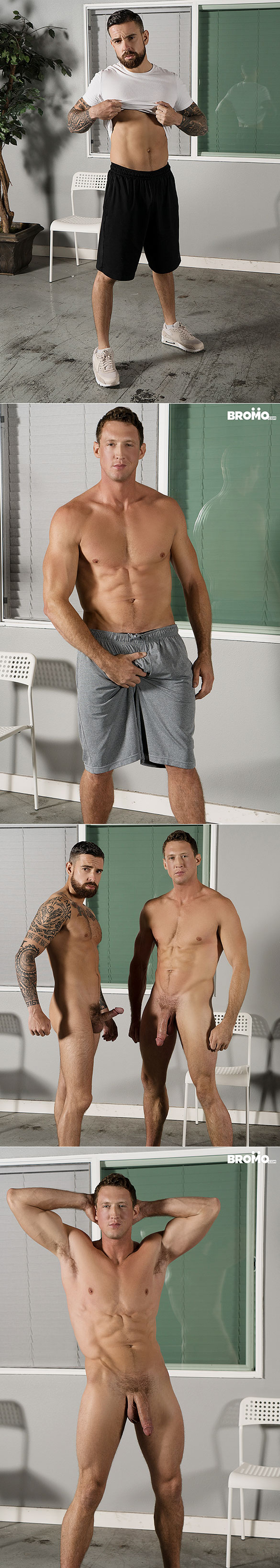 "Bromo: Pierce Paris pounds Teo Carter raw in ""Cock Dependent"""