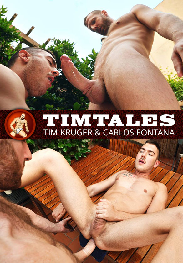 TimTales: Tim Kruger deep-dicks Carlos Fontana