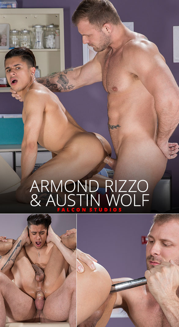 Falcon Studios: Armond Rizzo gets his hole stretched by Austin Wolf