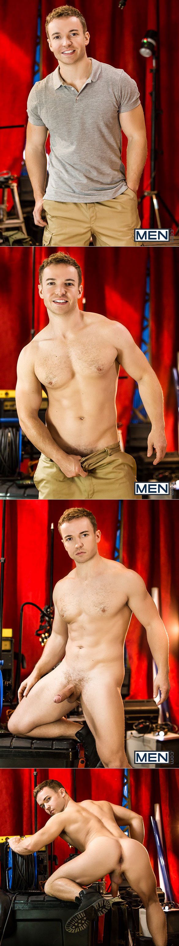 """Men.com: Gabriel Cross and Theo Ford flip fuck in """"Paranormal, Part 2"""""""