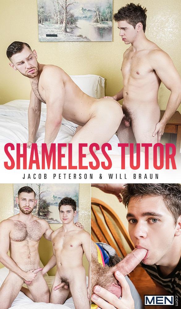 "Men.com: Will Braun fucks Jacob Peterson in ""Shameless Tutor"""