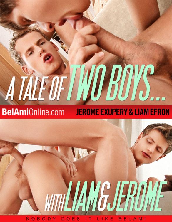 BelAmi: Jerome Exupery fucks Liam Efron bareback