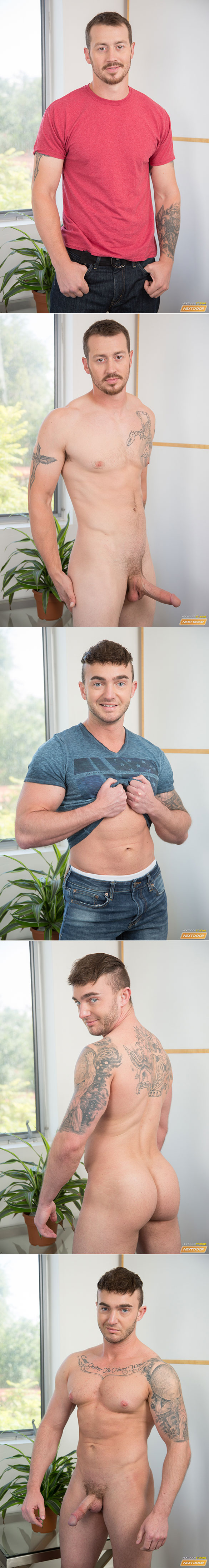 "Next Door Studios: Jake Ashford rides Mark Long's big cock bareback in ""My Friend's Hot Brother"""