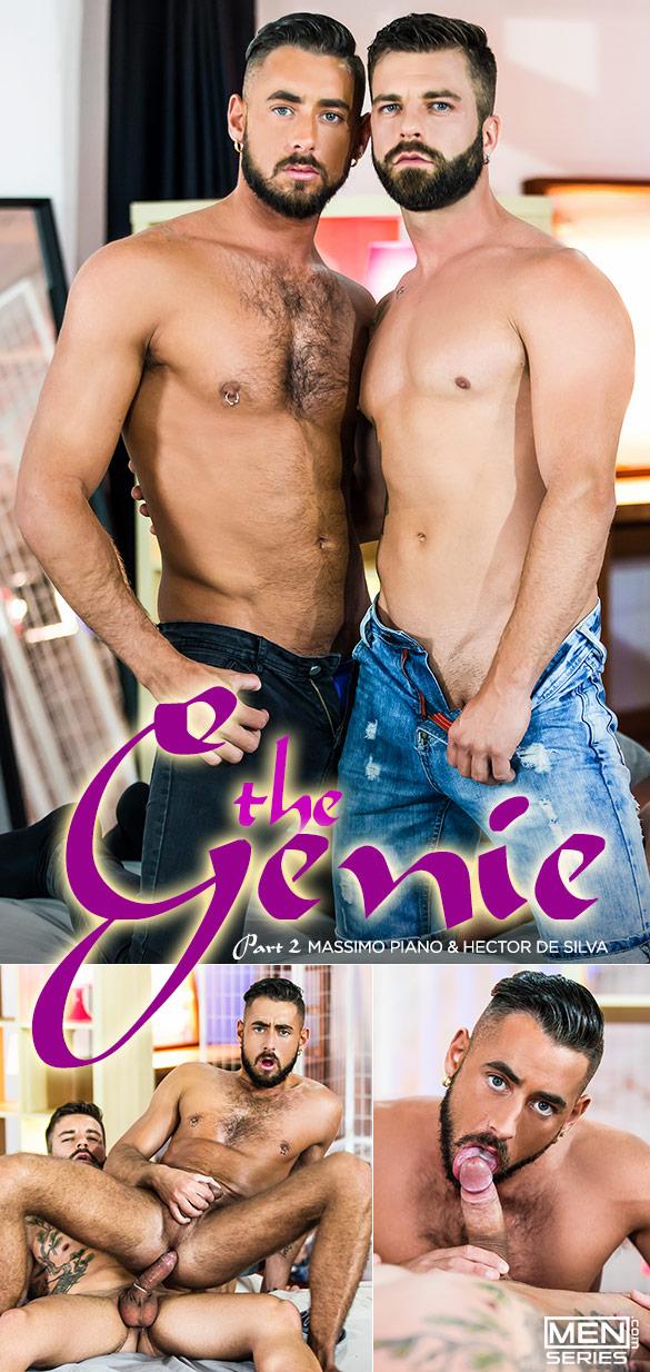 """Men.com: Hector de Silva fucks Massimo Piano in """"The Genie, Part 2"""""""