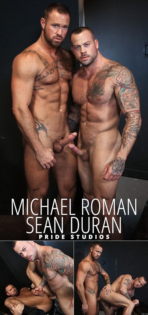 """Pride Studios: Sean Duran and Michael Roman flip fuck in """"Sean's Versatile Playroom"""""""
