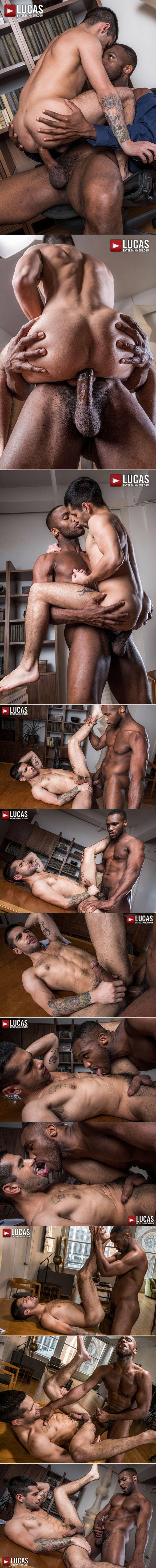 "Lucas Entertainment: Ty Mitchell bottoms for big-dicked Andre Donovan in ""Gentlemen 21: Top Management"""