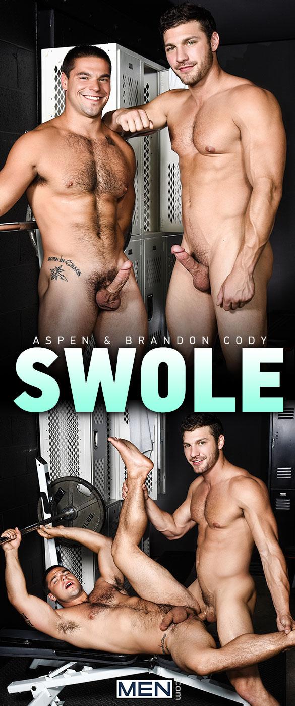 "Men.com: Brandon Cody tops Aspen in ""Swole"""