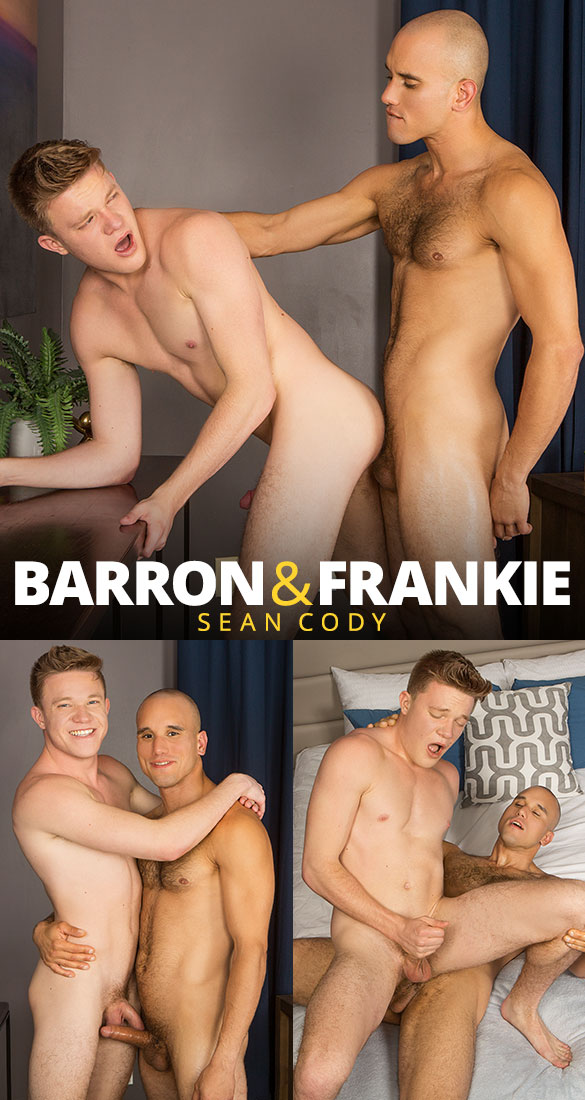 Sean Cody: Frankie pounds Barron raw