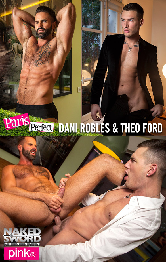 "NakedSword Originals: Theo Ford fucks Dani Robles in ""Paris Perfect – Episode 3: Buying Time"""