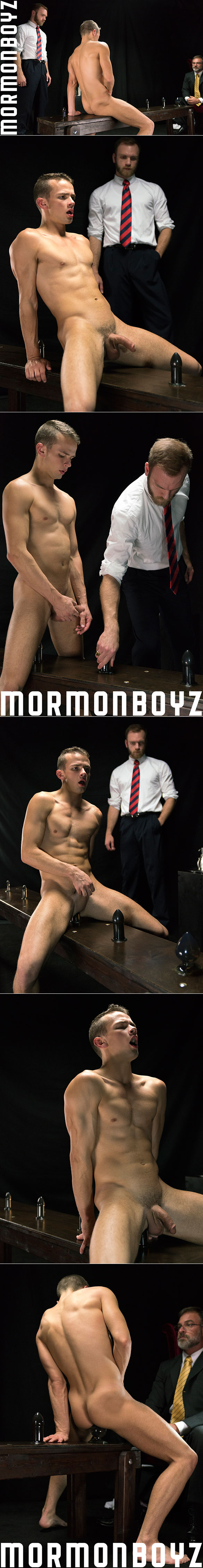 "MormonBoyz: Bishop Gibson barebacks Elder Land in ""Atonement"""