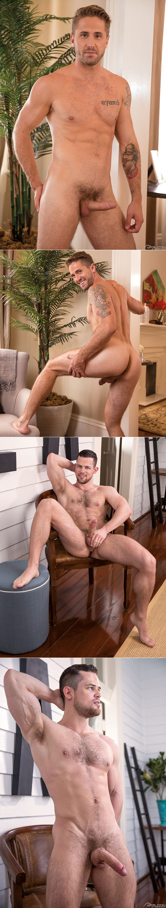 """Falcon Studios: Wesley Woods and Kurtis Wolfe service each other in """"Love & Lust in New Orleans"""""""