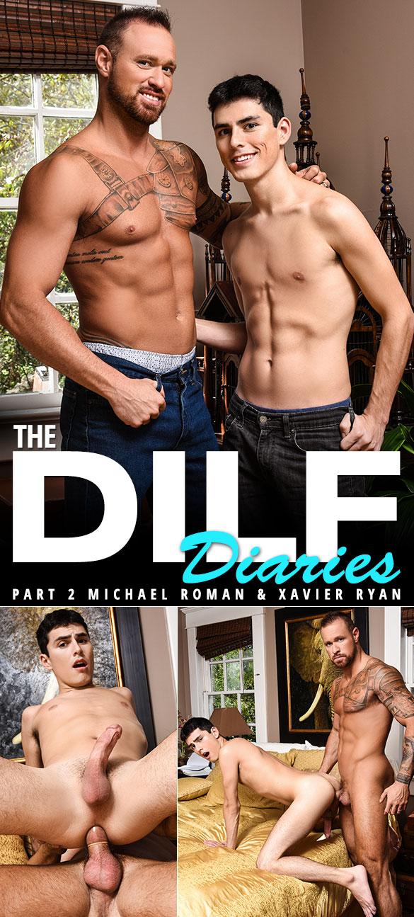 """Men.com: Michael Roman bangs Xavier Ryan in """"The DILF Diaries, Part 2"""""""
