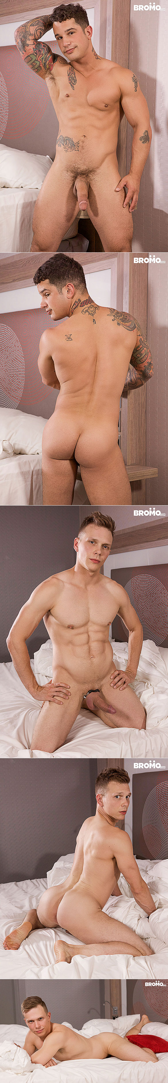 "Bromo: Pierre Fitch bangs Ethan Chase in ""Real Boyfriends Fuck Raw"""