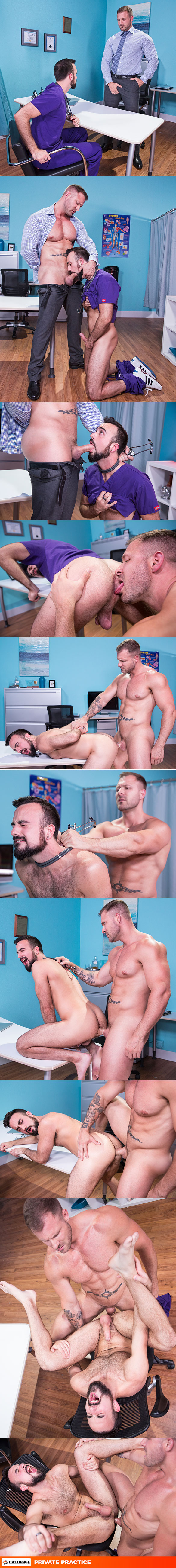 """HotHouse: Austin Wolf pounds Mason Lear in """"Private Practice"""""""