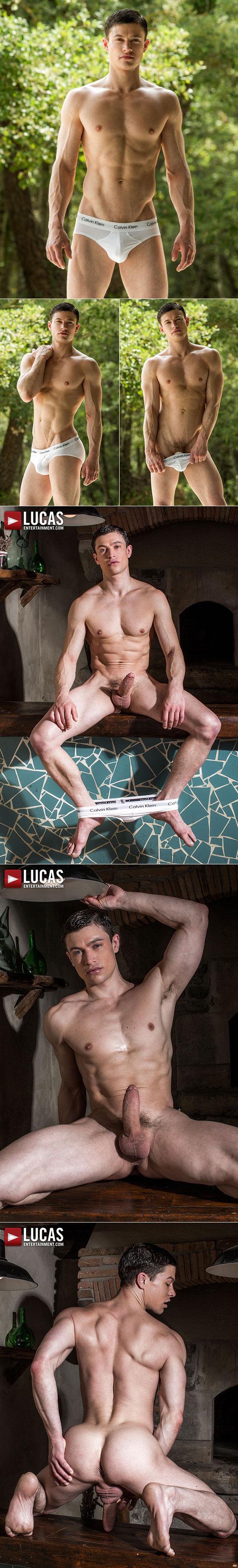 """Lucas Entertainment: Brock Magnus, Ben Batemen, Ruslan Angelo and Damon Heart in """"Raw Double Penetrations 07: Jam Packed"""""""