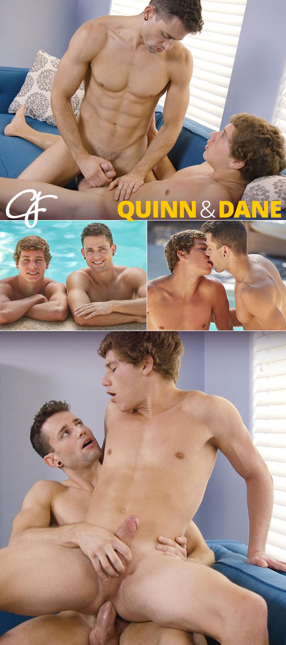Corbin Fisher: Quinn fucks the cum out of Dane