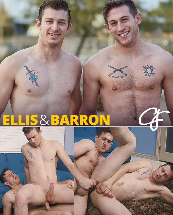 Corbin Fisher: Ellis rides Barron bareback