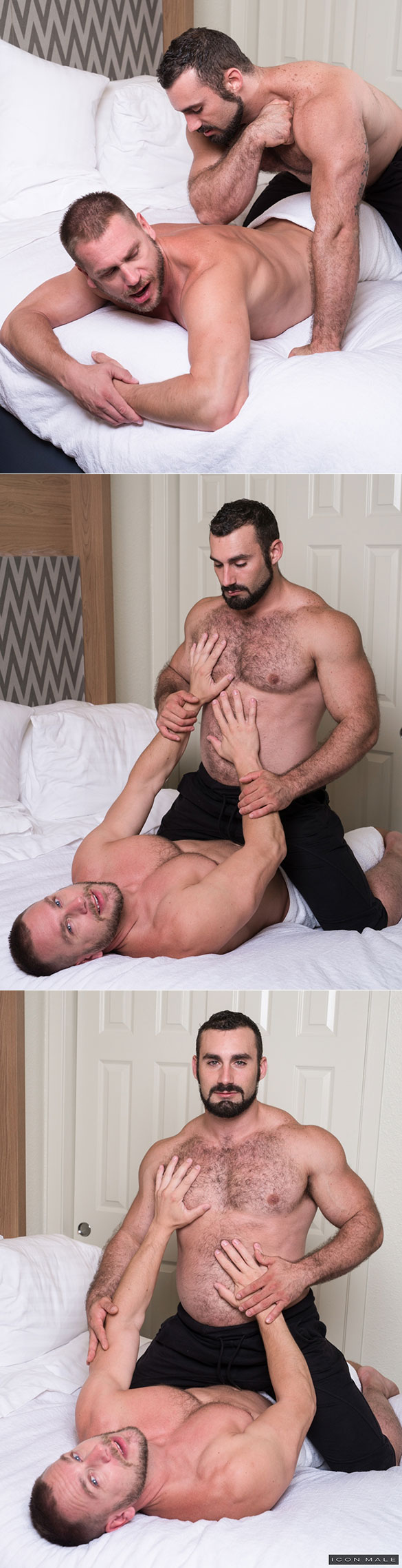 Bearded Muscle Jaxton Wheeler Bangs His Boyfriend Roman Todd