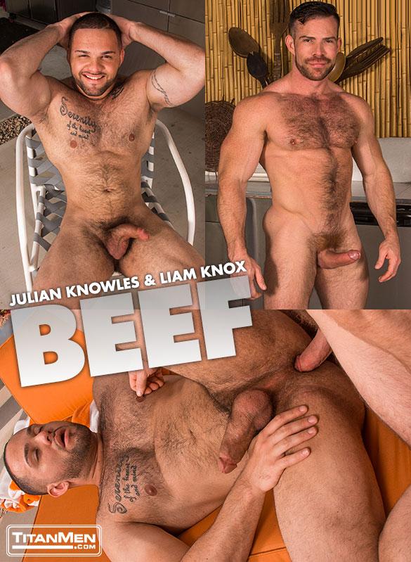 "TitanMen: Liam Knox fucks Julian Knowles in ""Beef"""