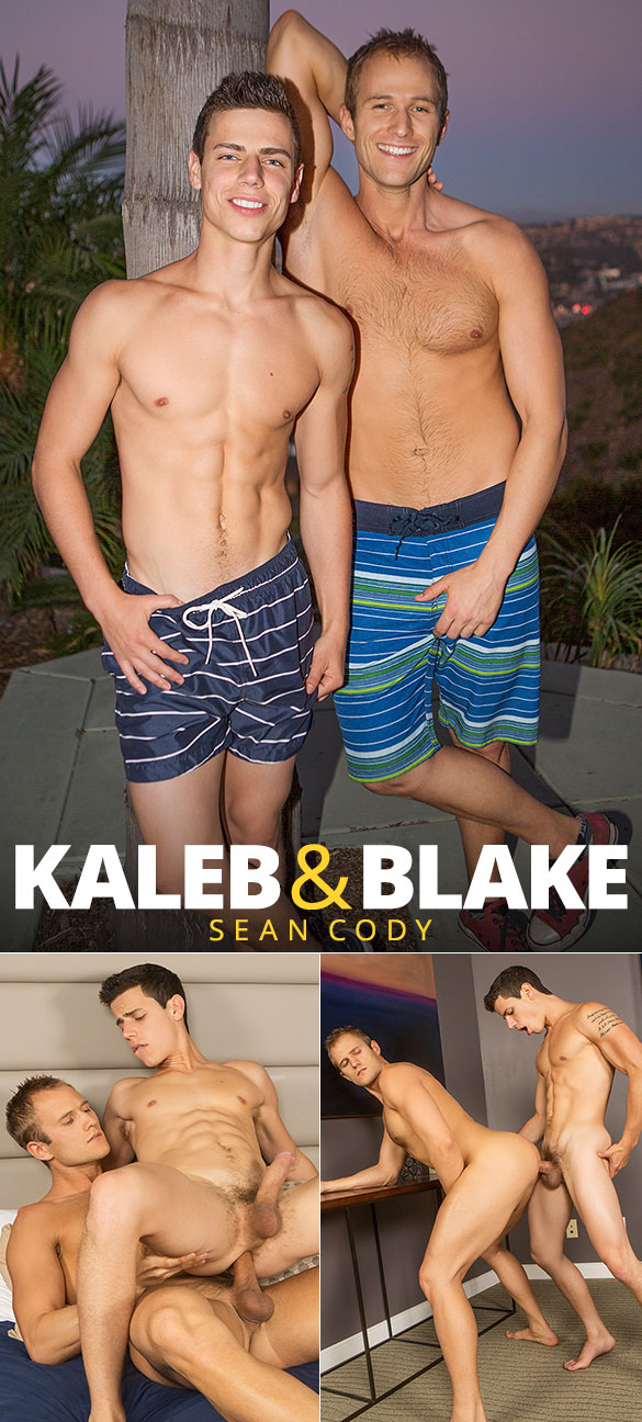Sean Cody: Blake and Kaleb flip fuck bareback