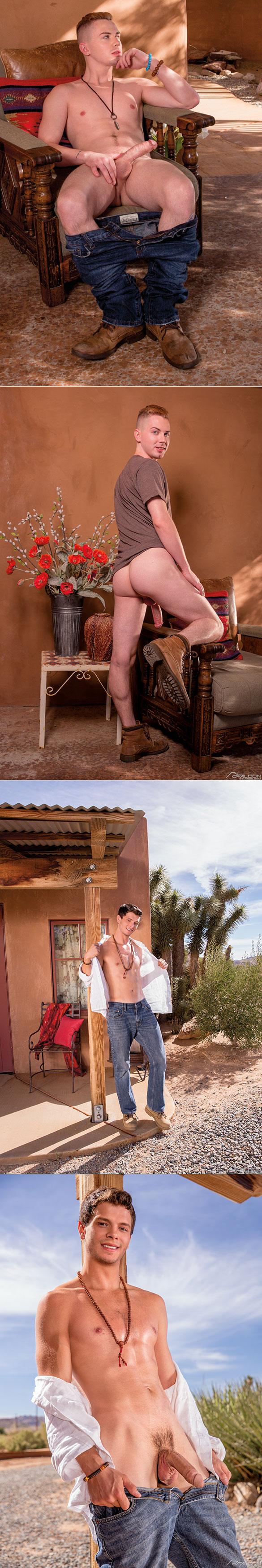 "Falcon Studios: Carter Michaels fucks Kyler Ash in ""Mojave Heat"""