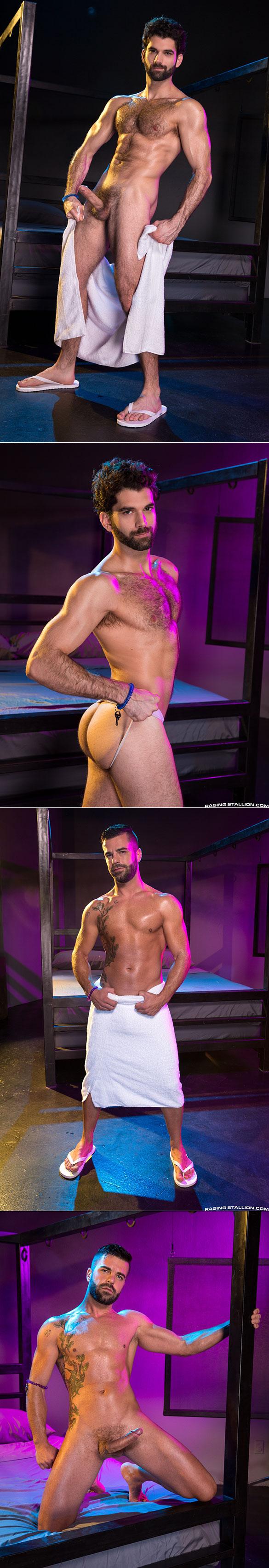 "Raging Stallion: Hector de Silva bangs Tegan Zayne in ""Clothing Optional"""