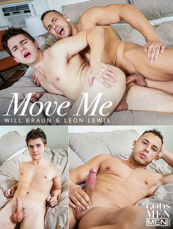 "Men.com: Leon Lewis fucks Will Braun in ""Move Me"""