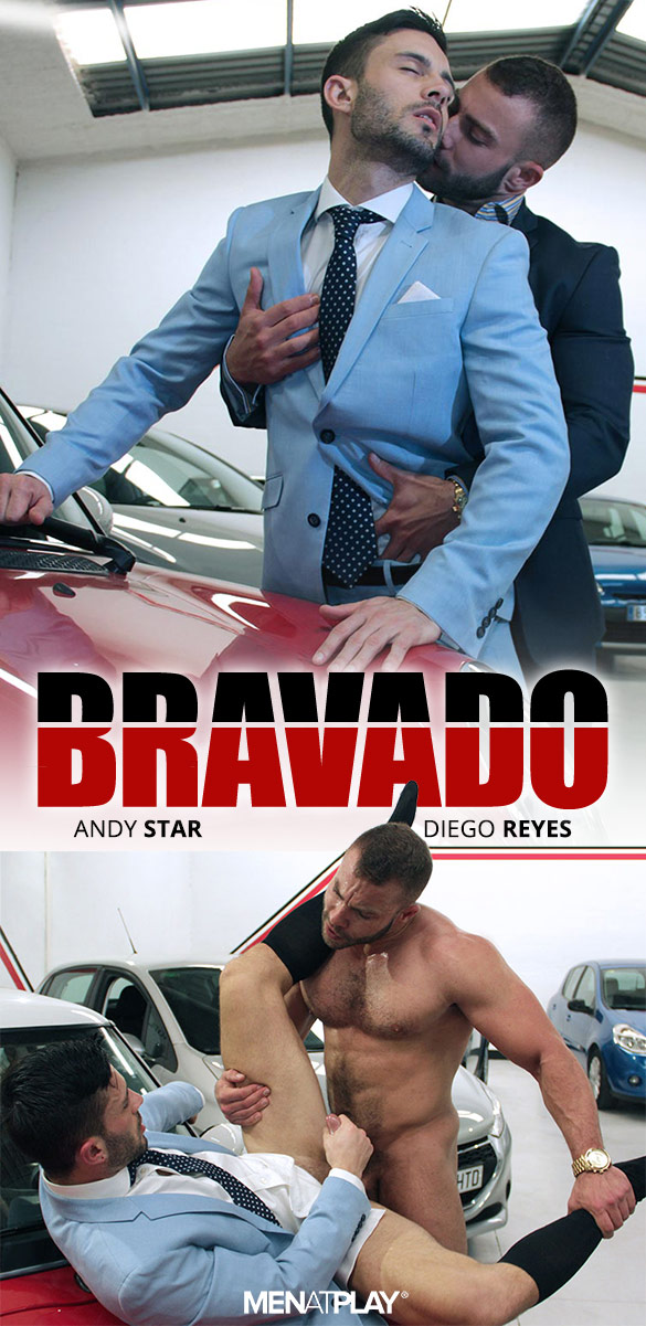 "MenAtPlay: Diego Reyes fucks Andy Star in ""Bravado"""
