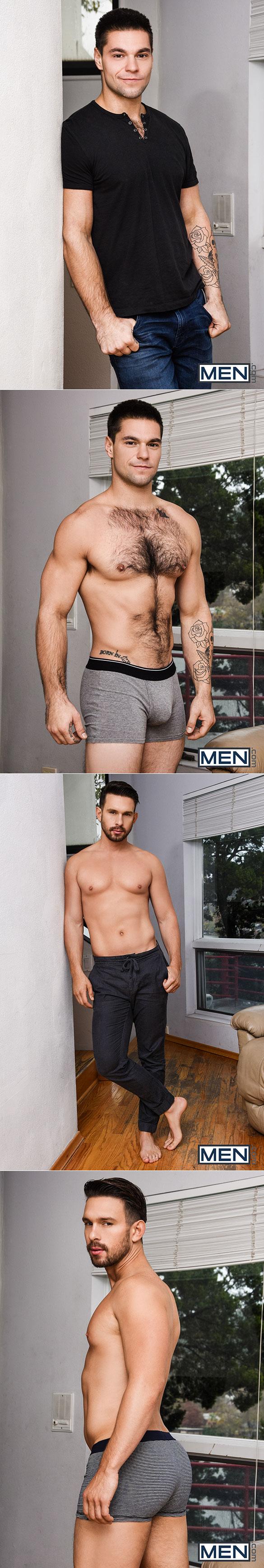 "Men.com: Aspen bangs Casey Jacks in ""Head Butt Fuck"""