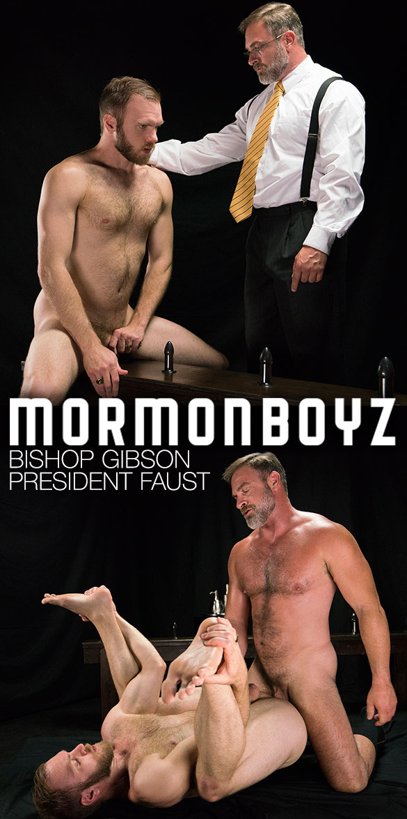 "MormonBoyz: President Faust bangs Bishop Gibson raw in ""Atonement"""