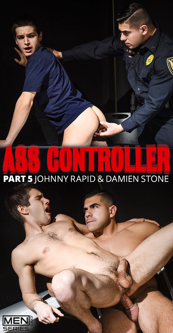 "Men.com: Damien Stone fucks Johnny Rapid in ""Ass Controller, Part 5"""