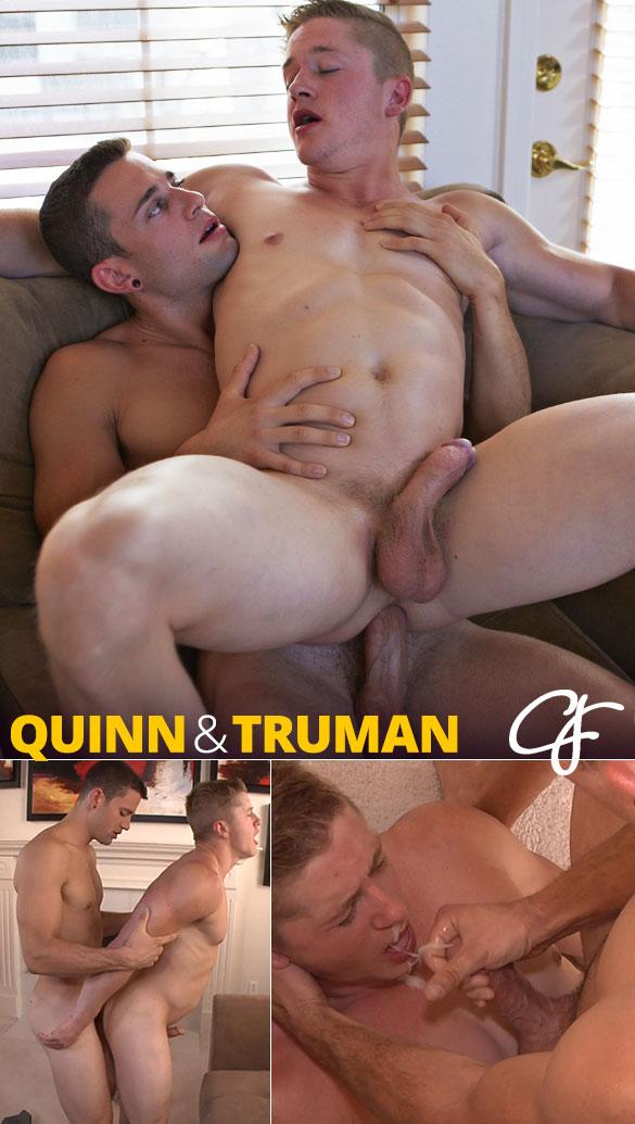 Corbin Fisher: Quinn feeds Truman his load