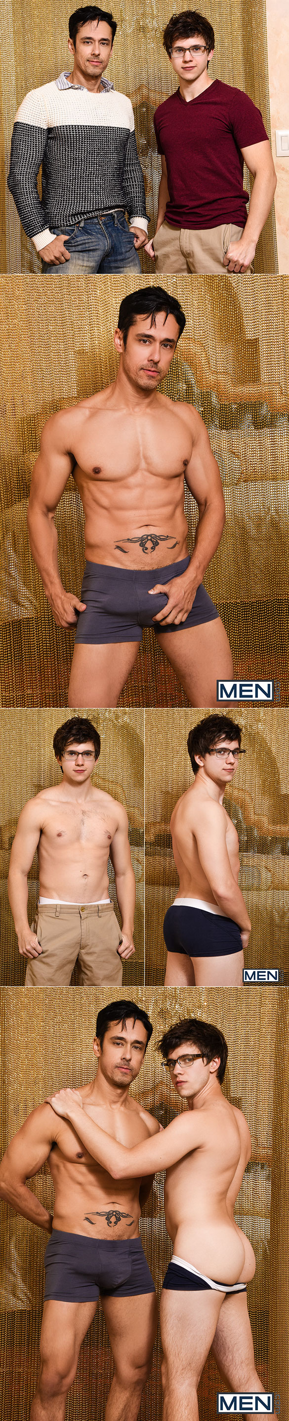 "Men.com: Will Braun rides Rafael Alencar's thick cock in ""Pursuing the Bait"""