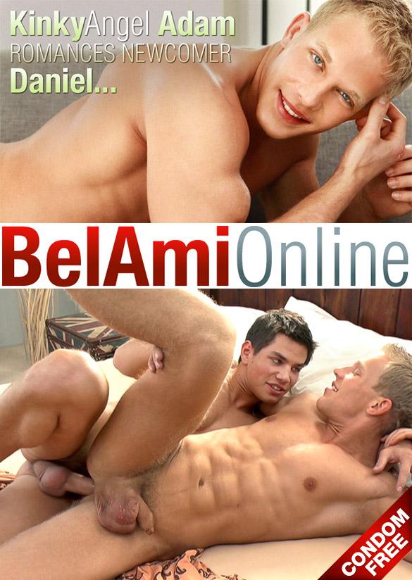 BelAmi: Adam Archuleta barebacks muscle jock Daniel Mathis