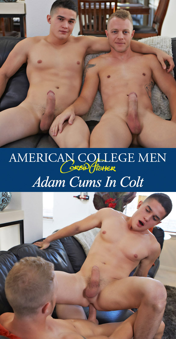 Corbin Fisher: Adam creampies Colt